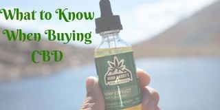 What to Know When Buying CBD Products
