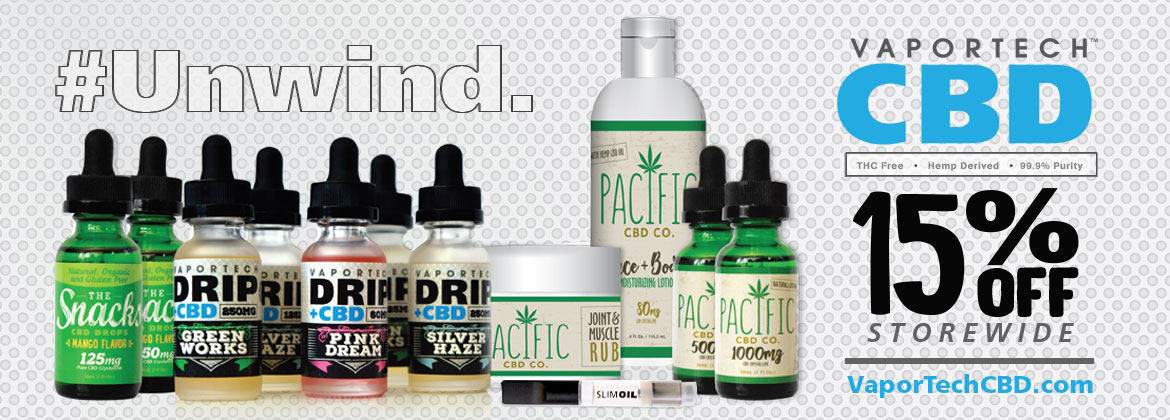 VaporTech CBD Products, Coupons, and Reviews