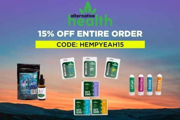Alternative Health Coupon Code | 15% off entire online order with no exclusions | (Verified) March 2021
