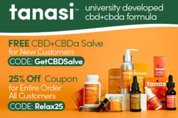 Tanasi Coupon Code | 25% off entire order | (verified) August 2021