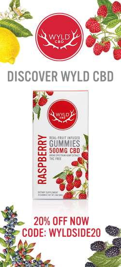 Wyld CBD Coupon Code. 20% off ENTIRE order with NO Exclusions today!