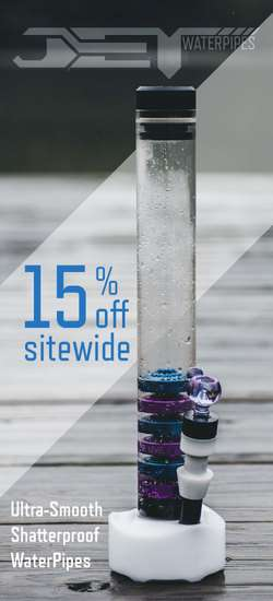 Jet Water Pipes Coupon Code. 15% off entire order. NO EXCLUSIONS