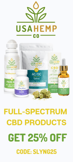 25% off USA Hemp CBD Coupon code | September 2020 | Verified |