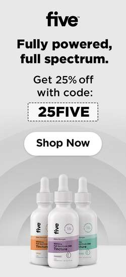 Five CBD Coupon Code | 25% off entire order no exclusions | (Verified) March 2021
