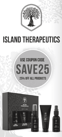 Island Therapeutics Coupon Code | 25% off Entire order with no exclusions | (Verified) March 2021