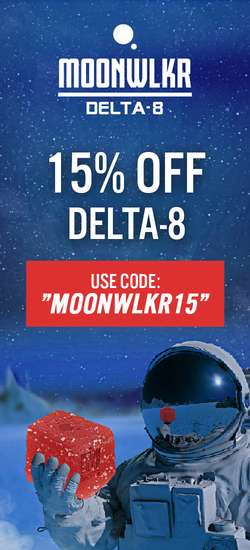 MoonWALKR Delta 8 Coupon Code | 15% off entire order | (Verified) 2021